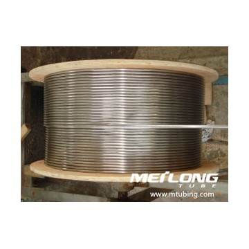 Duplex 2205 Spiral Downhole Chemical Injection Linje Tubing