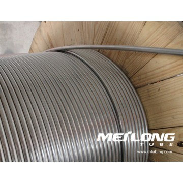 X2CrNiMo17-12-2 Coiled Downhole Chemical Injection Linje Tubing