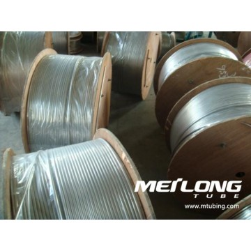 Duplex 2507 Coiled Downhole Chemical Injection Linje Tubing