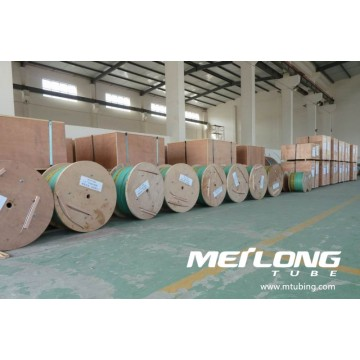 Alloy 625 Coiled Downhole Chemical Injection Linje Tubing