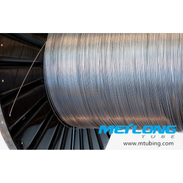 Alloy 825 Coiled Capillary Downhole Tubing